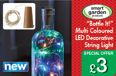 Bottle It!  Multi Coloured Decorative String Light – Now Only £3.00