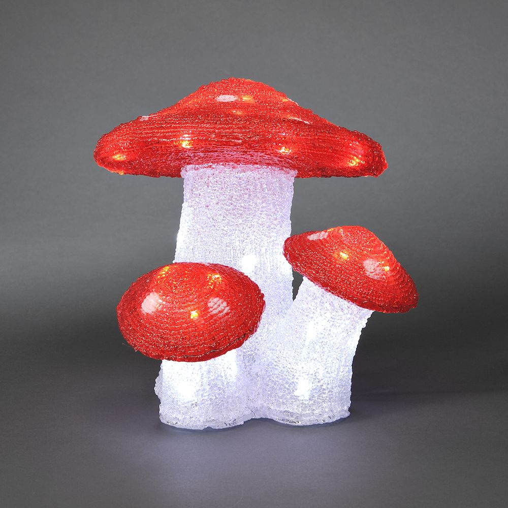Mushrooms with 48 White LEDs – Now Only £30.00