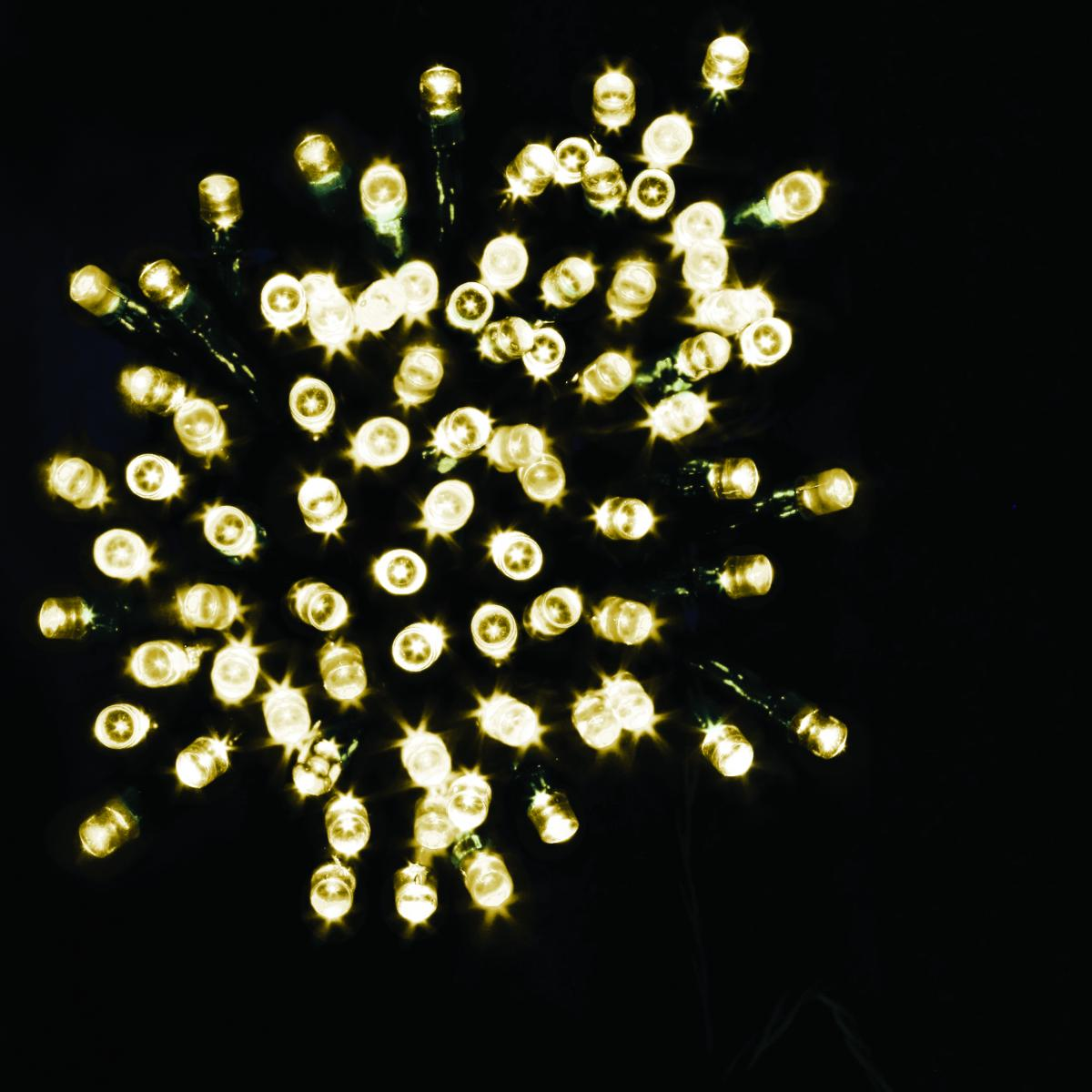 50 Battery operated Timer String Lights - Warm White – Now Only £4.00