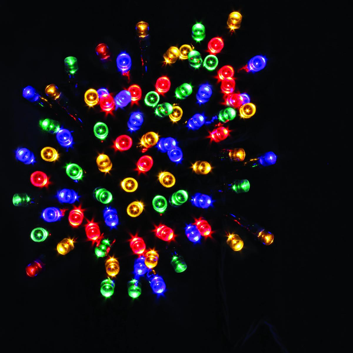50 Battery operated Timer String Lights - Multi Coloured – Now Only £4.00