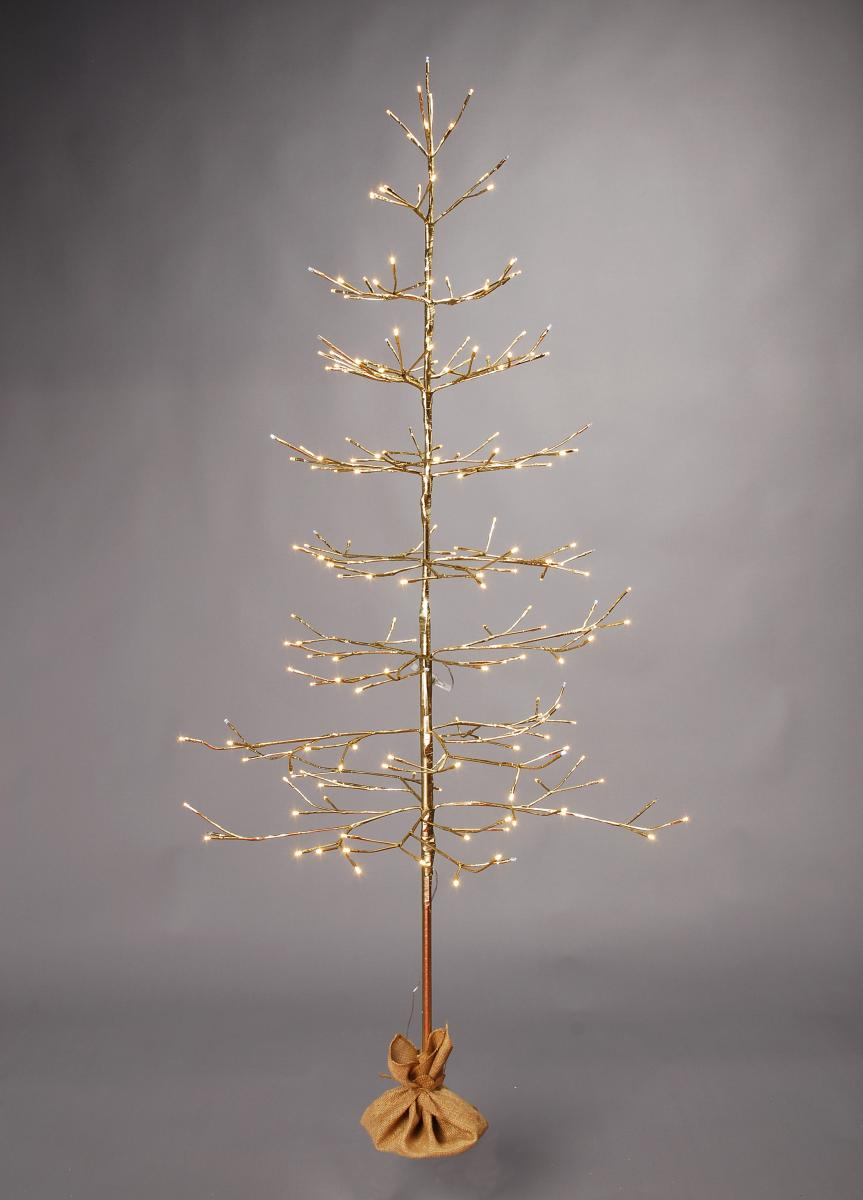60cm Lit champagne gold twig tree – Now Only £18.00