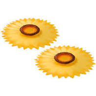 Set of 2 Charles Viancin Sunflower Drink Covers - 12cm  – Now Only £7.50