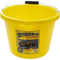 3 Gallon Invincible Bucket - Yellow – Now Only £5.00