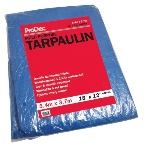 Multi Purpose Tarpaulin 18' x 12' – Now Only £7.00